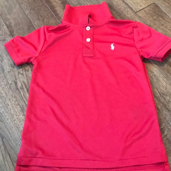2ce540da Ralph the Ren boys polo shirt red with white horse.  M_5b4372b6d6dc523b84960e4a